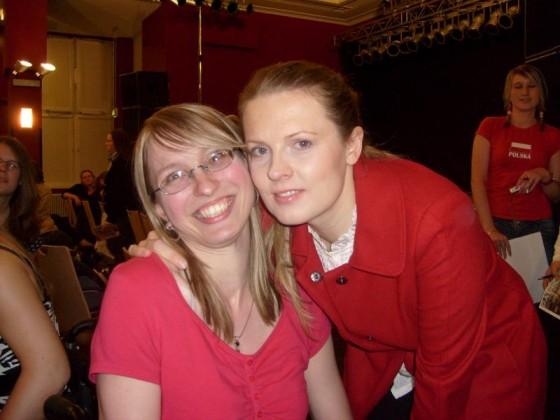 Patricia und ich