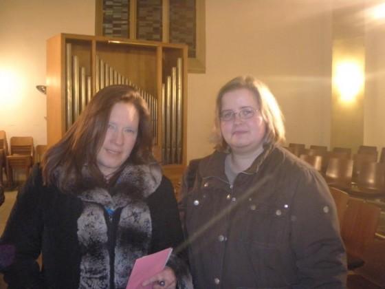 Kathy u. ich in Iserlohn