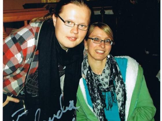 Angelo und ich in Erfurt