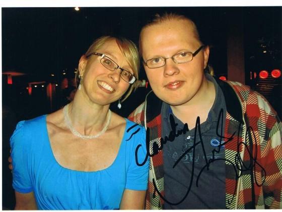 Angelo und ich in Hamburg