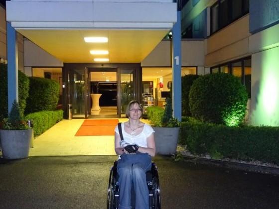 Nach dem Konzert vor dem Hotel