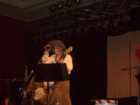 Mit Hut, das sah lustig aus :)